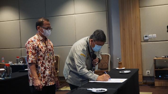 Direktorat Jenderal Hortikultura Tandatangani Komitmen Bersama Keterbukaan Informasi Publik